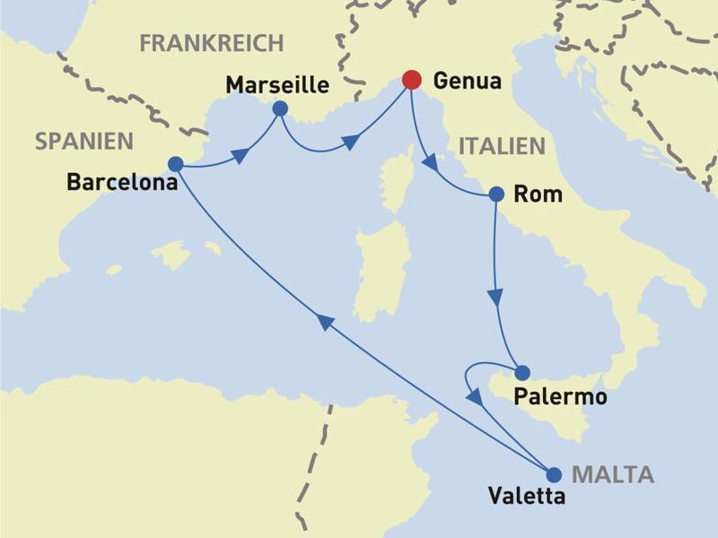 MSC Meraviglia: 7 Nächte Kreuzfahrt Westliches ...